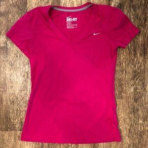 Nike Dri-Fit Regular Fit Athletic Tee